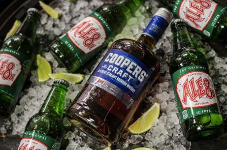 Cooper's Craft Bourbon x Ale-8-One