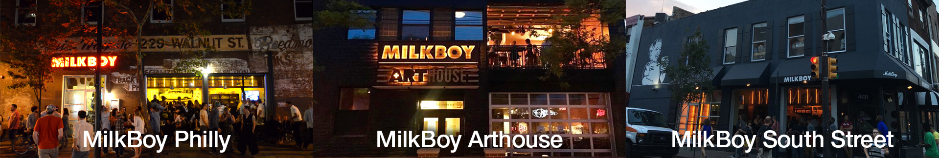 MilkBoy-Locations