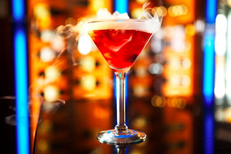 OCean Prime cocktail