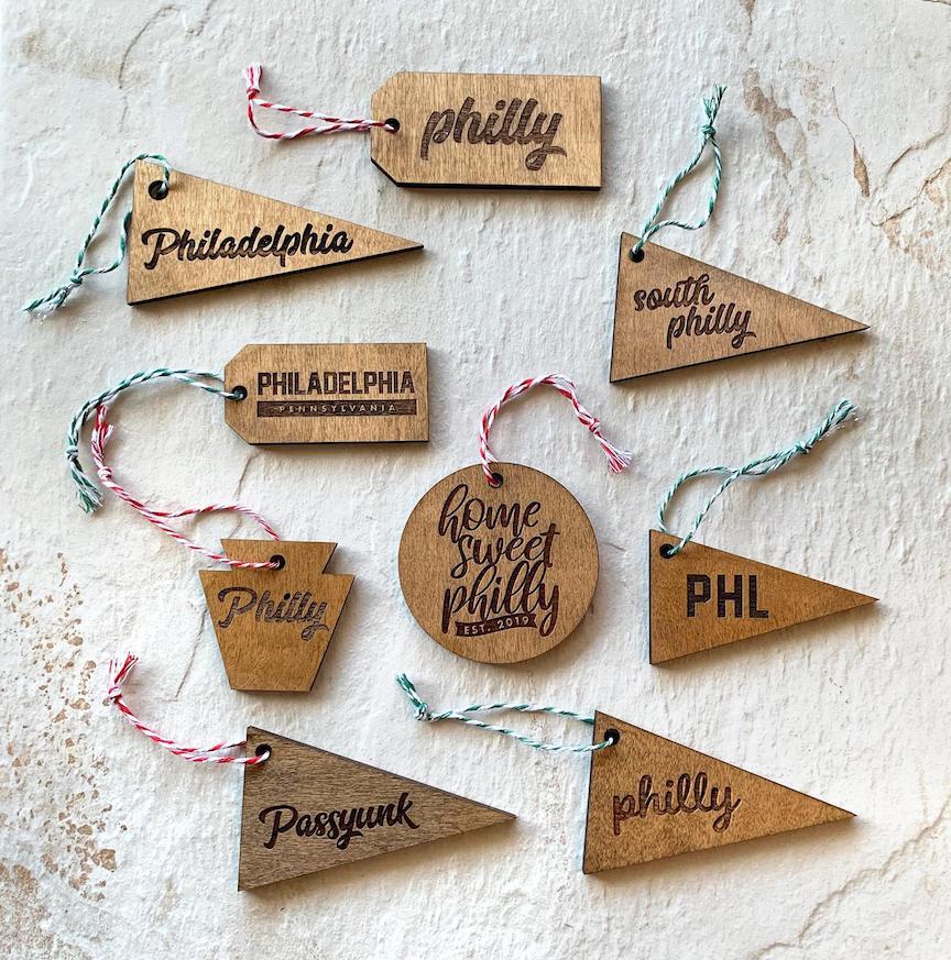 Frankadelphia-ornaments