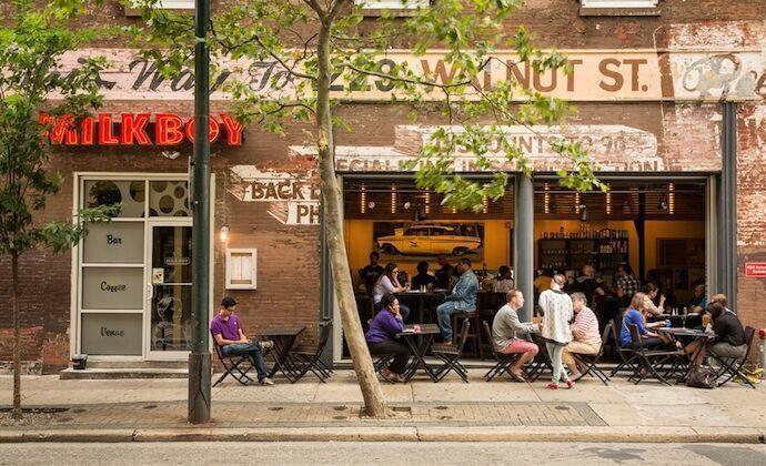 MilkBoy Philly Chestnut St Exterior