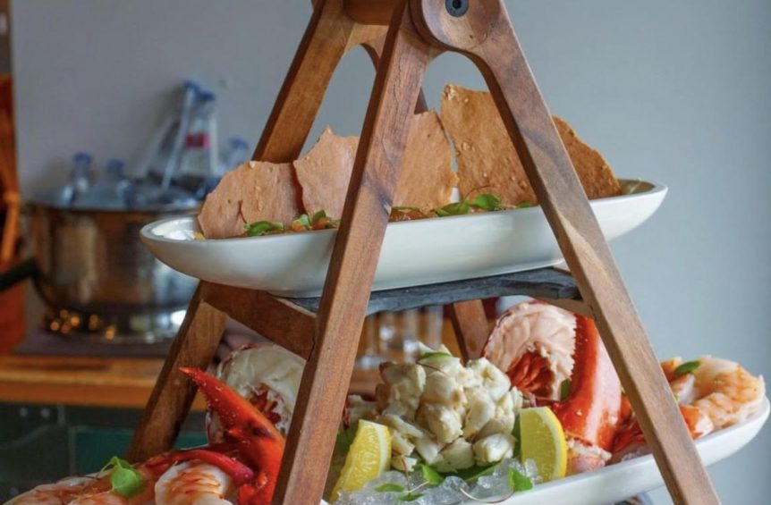UF Seafood Tower