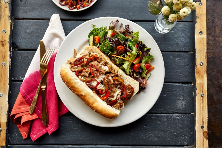 Vegan Cheesesteak