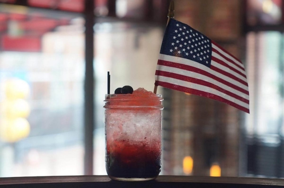 Red Owl Tavern 4th of July cocktail