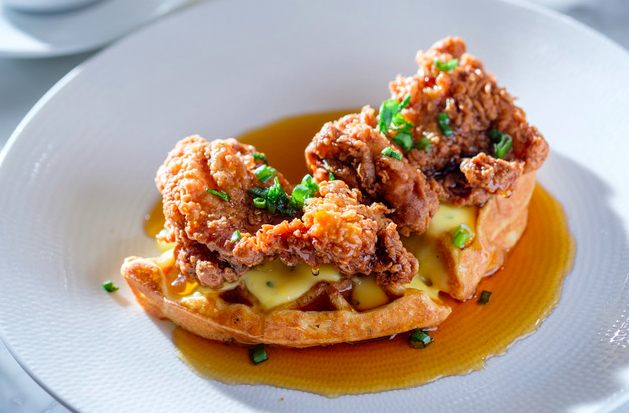 Stella of New Hope Buttermilk Fried Chicken and Waffles Photo Credit Stephen Legato
